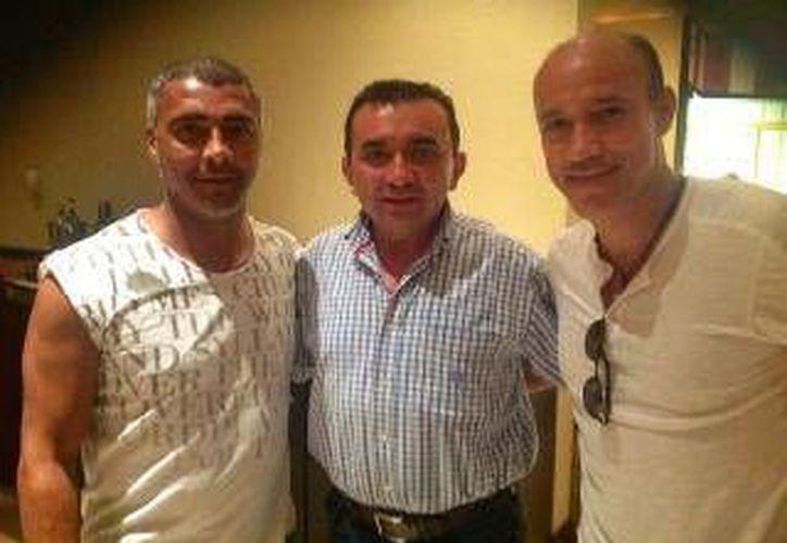 Las dos leyendas vivientes del fútbol sostendrán un duelo amistoso en el Pueblo Mágico. (Carlos Horta/SIPSE)