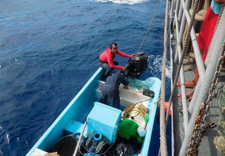 La Secretaria de Marina-Armada de México auxilió a un pescador frente a las costas de Dzilam de bravo. (Foto de contexto de SIPSE)