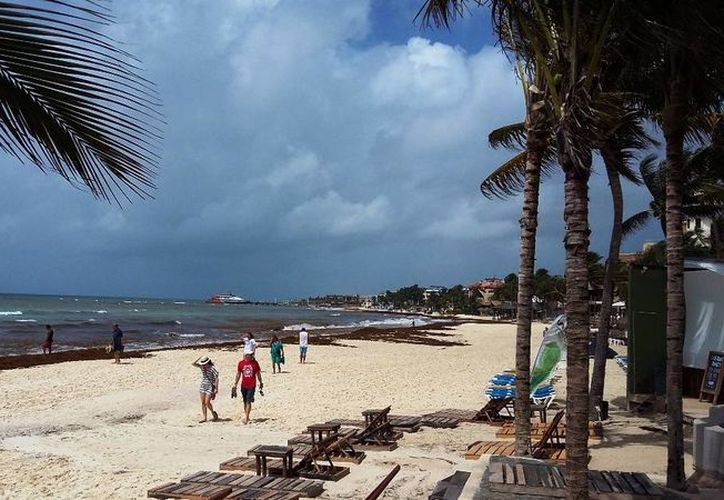 El pronóstico meteorológico indica que las temperaturas en la Riviera Maya serán superiores a los 32 grados centígrados. (Daniel Pacheco/SIPSE)