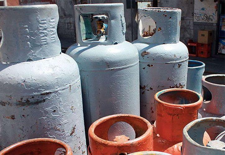 El precio del gas LP aumentó dos pesos por kilogramo. (Foto: Milenio Novedades)