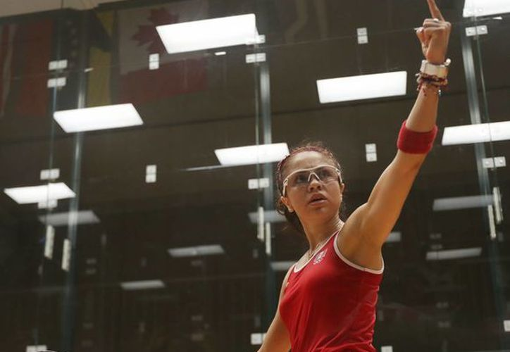 Paola Longoria conquistó la medalla de oro, tras vencer a María José Vargas en la final panamericana de raquetbol; la raquetbolista mexicana buscará otra de oro, en la final de la competición por parejas junto a Samantha Salas. (Conade)