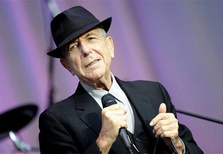 Leonard Cohen, quien falleció este jueves, forma parte del Salón de la Fama del Rock and Roll en Estados Unidos. (Archivo/ AP)