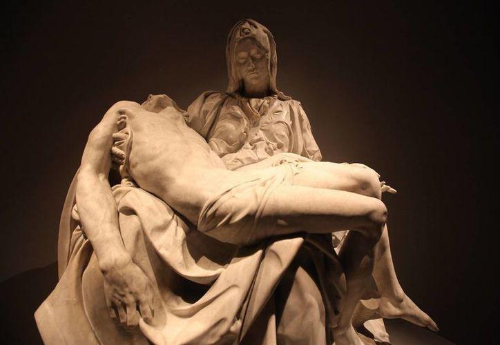 Dos exposiciones, una con obras de Miguel Ángel Buonarroti, y otra con creaciones de Leonardo da Vinci, se mostrarán en Bellas Artes en México en agosto. (Foto: Notimex)