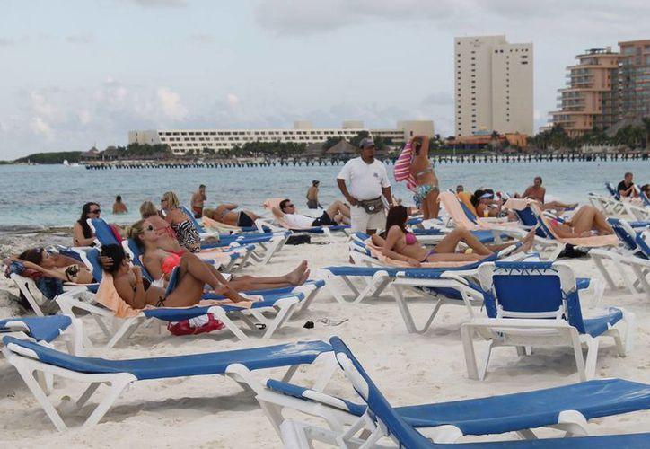 Quintana Roo ha tenido un aumento en la presencia de turismo. (Israel Leal/SIPSE)