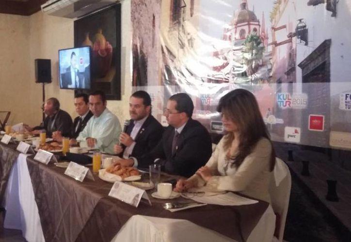 Finalizan actividades del Foro Nacional de Turismo y Cultura Kultur 2015. (Claudia Olavarrían/SIPSE)