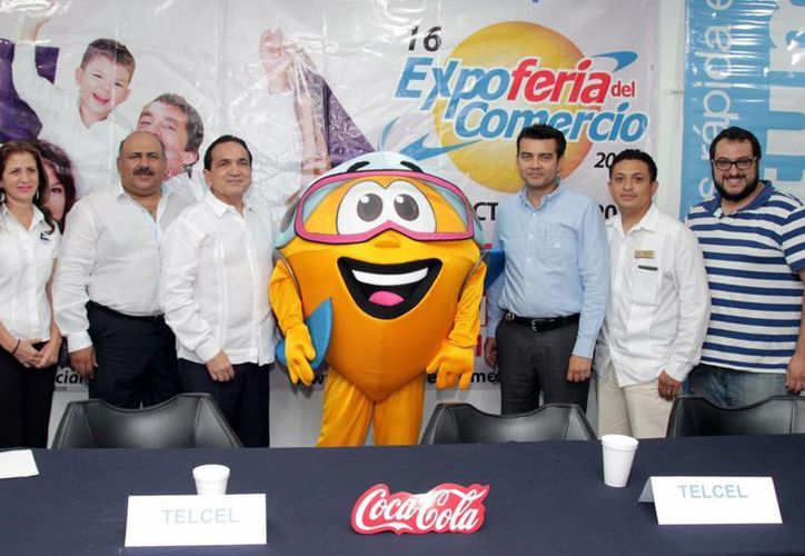 Ayer, representantes de la Canaco ofrecieron detalles de la Expo Feria Comercial, en su edición 16. (Milenio Novedades)