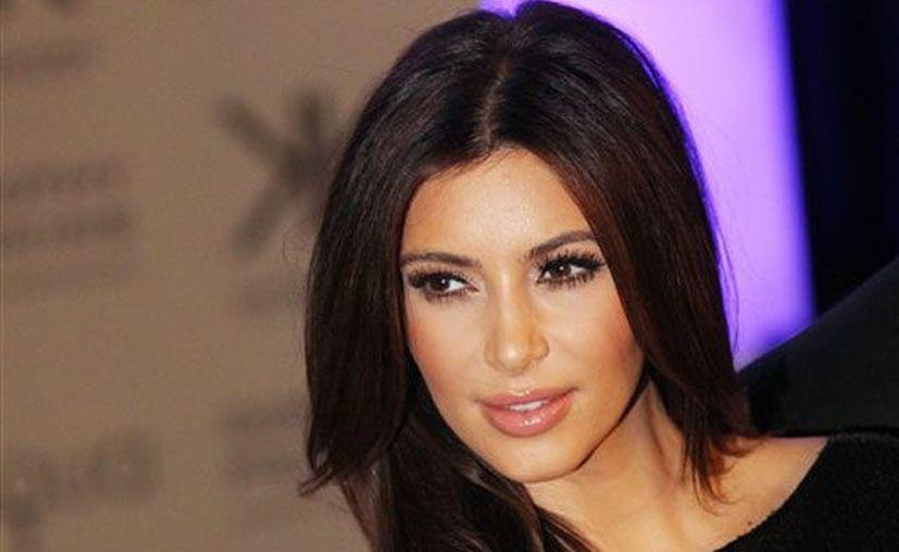 Kim Kardashian no estaba en casa de la familia cuando llegó la policía. (Agencias)