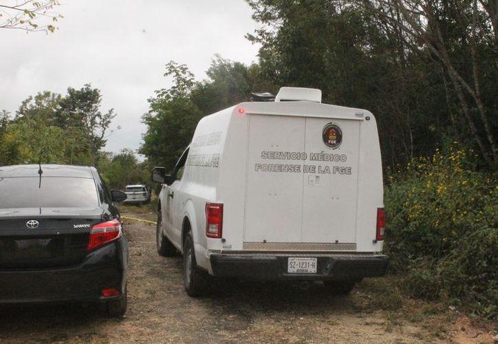 Los cuerpos fueron trasladados a las instalaciones del Servicio Médico Forense. (Redacción)