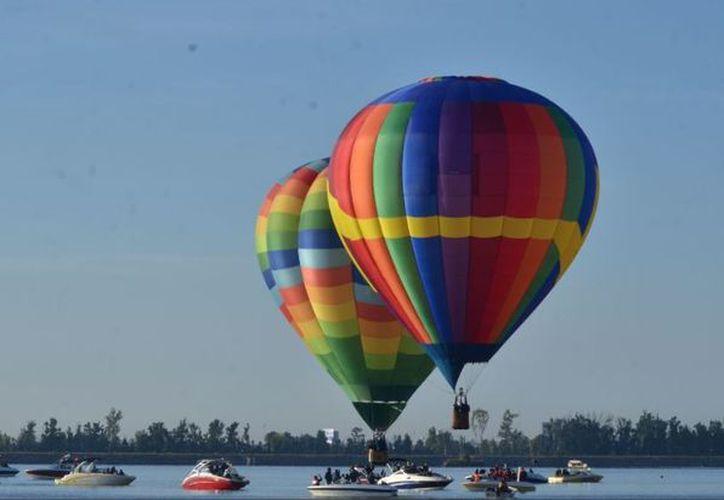 Se podrán disfrutar de globos aerostáticos provenientes de diferentes países. (Twitter/SECTUR)