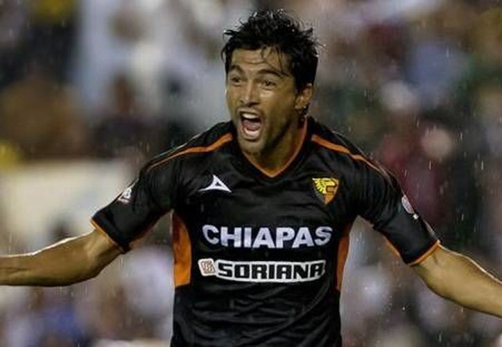 Imagen del atacante Mauricio Romero ha estado en equipos como Jaguares, Morelia, Atlante y Tigres. (Milenio Novedades)