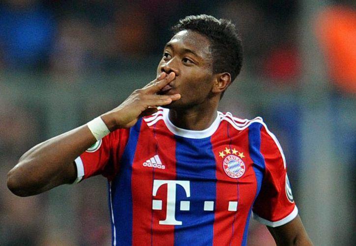 El año pasado David Alaba, de Bayern Munich, sufrió una lesión en una rodilla, que lo marginó varios meses. Ahora le pasó lo mismo en la otra pierna. (EFE)