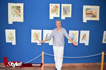 """Inauguran exposición """"Jugando con el color"""""""