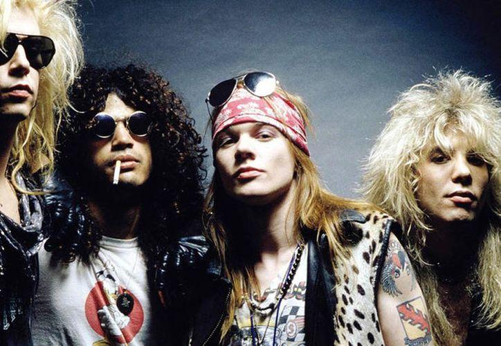 Guns N' Roses, la banda emblema de rock de los 80 y 90, acaba de estrenar el vídeo inédito de la canción It's so easy. (Foto: Internet)