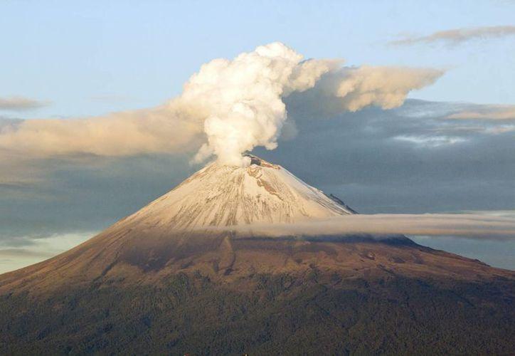 El Semáforo de Alerta Volcánica permanece en Amarillo Fase 2. (Archivo/Notimex)