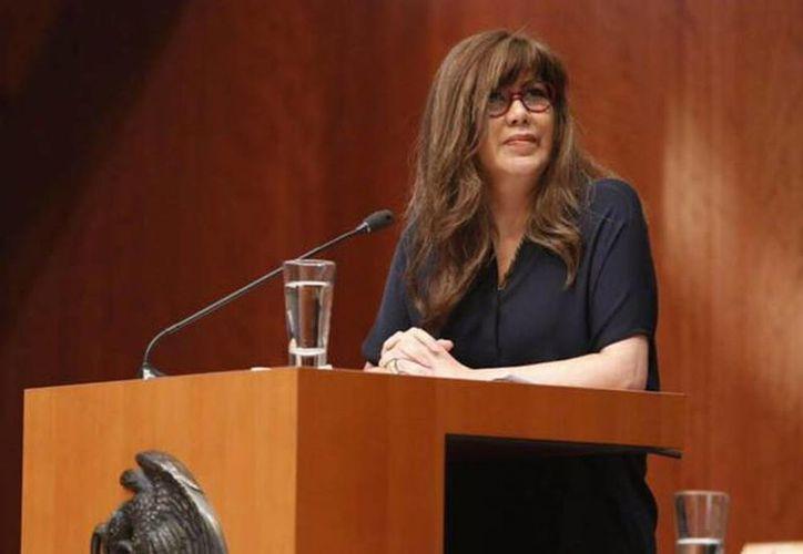 La senadora de Nueva Alianza presentó hasta hace una semana diversas iniciativas en la LXI Legislatura. (Facebook Mónica T. Arriola Gordillo)