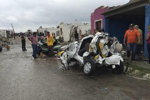 Devastador tornado en Coahuila