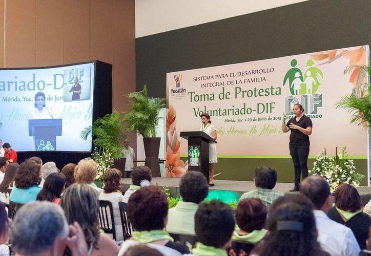 El acto se efectuó en el Centro de Convenciones Yucatán Siglo XXI. (SIPSE)