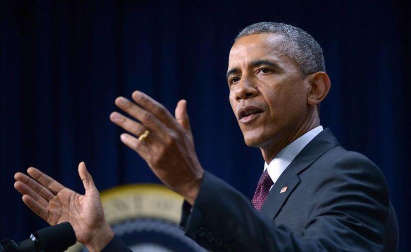 La administración de Barack Obama continuará tratando de ganar respaldo a fin de conseguir los 41 votos necesarios para aprobar el acuerdo nuclear con Irán. (Archivo/Notimex)
