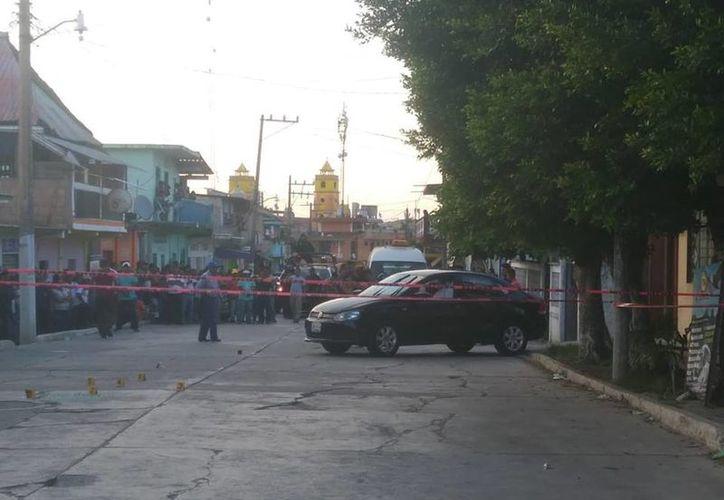El arma con la que le dispararon fue de 9 mm. (Foto: Periodismo Orizaba).
