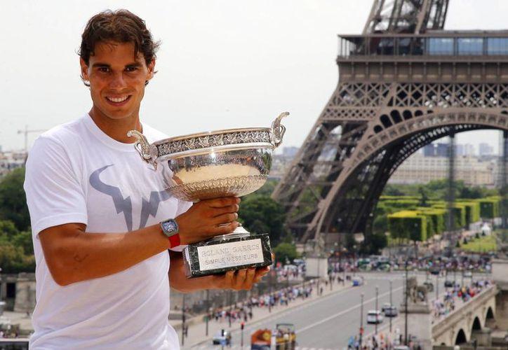 El tenista español venció este domingo al serbio Novak Djokovic. (AP)