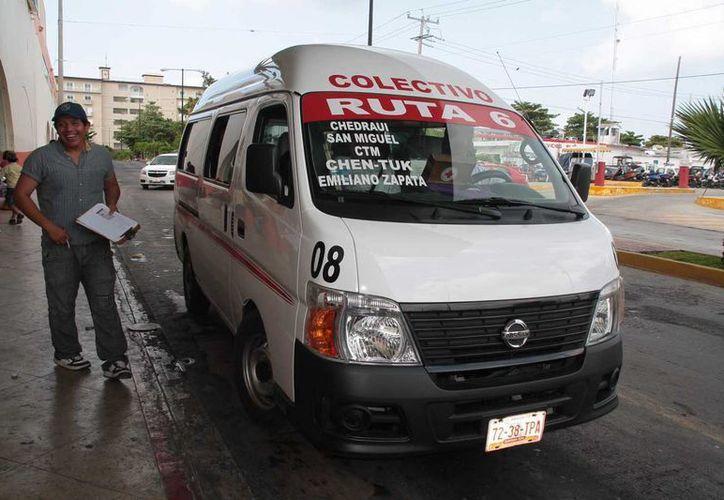Sin fecha para aumentar tarifas de transporte en la isla. (Julián Miranda/SIPSE)