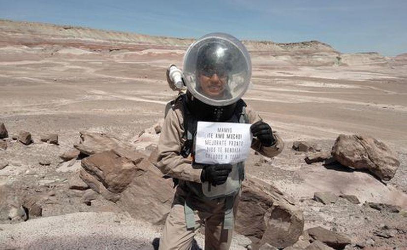 El joven estudiante fue aceptado en 2015 en la NASA para intervenir en el programa Orión. (Milenio)
