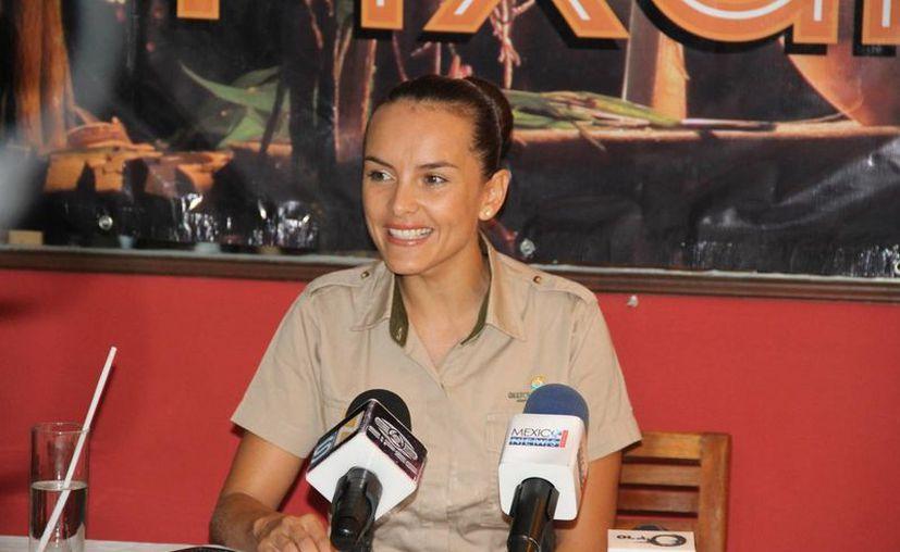 En conferencia, Nathalie Leño Bez, encargada de relaciones públicas, comentó que el único objetivo es preservar la tradición maya. (Miguel Ángel Ortiz/SIPSE)