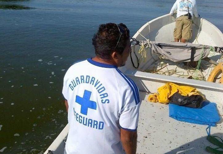 Las autoridades buscan crear estrategias de prevención, para evitar accidentes cuando ingresan al mar. (Rossy López/SIPSE)