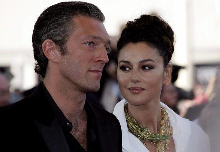 """Monica Bellucci y Vincent Cassel se conocieron durante el rodaje de """"El Apartamento"""" en 1996. (Archivo/EFE)"""