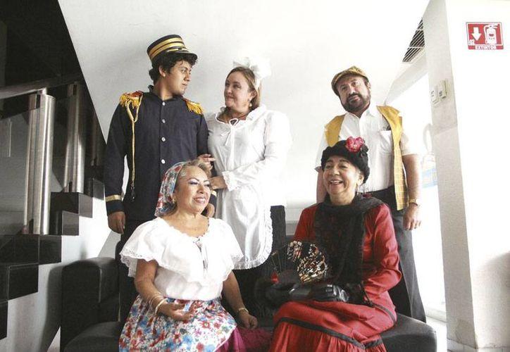 La compañía España y Yucatán a través de la Zarzuela se presenta este domingo en el Centro Cultural Olimpo
