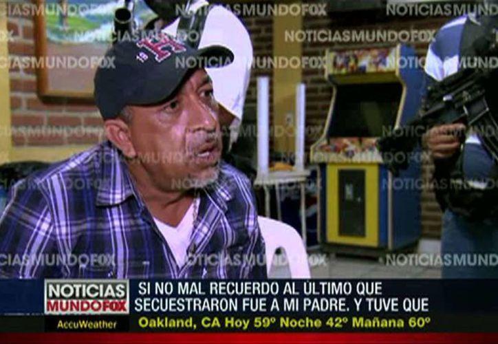 La captura de 'La Tuta' es un éxito en la lucha contra el crimen organizado global, apuntó la DEA. En la imagen, el líder templario en una de las entrevistas que concedió a la televisión internacional. (AP)