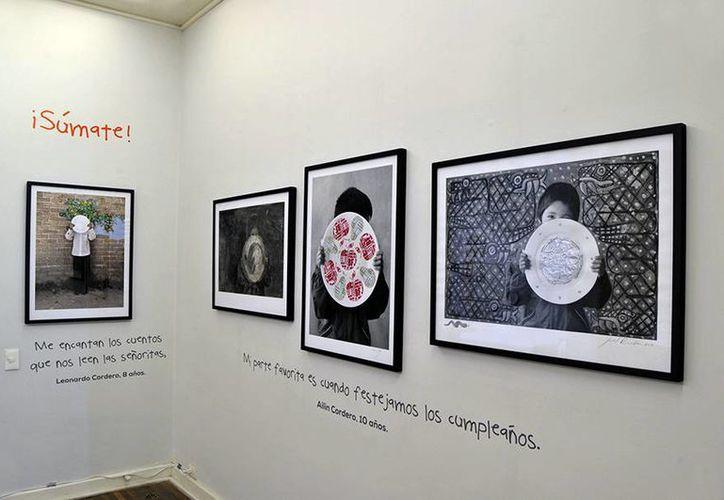 La exposición 'Llenemos los platos vacíos' permanecerá abierta hasta el cinco de marzo en la Galería Patricia Conde de la Ciudad de México. (Fundación Alsea)