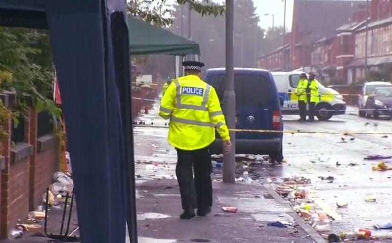 Diez heridos en un tiroteo en Manchester tras un carnaval