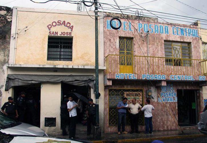 Varias posadas del primer cuadro de la ciudad fueron 'visitadas' por las autoridades municipales durante un operativo. (Milenio Novedades)