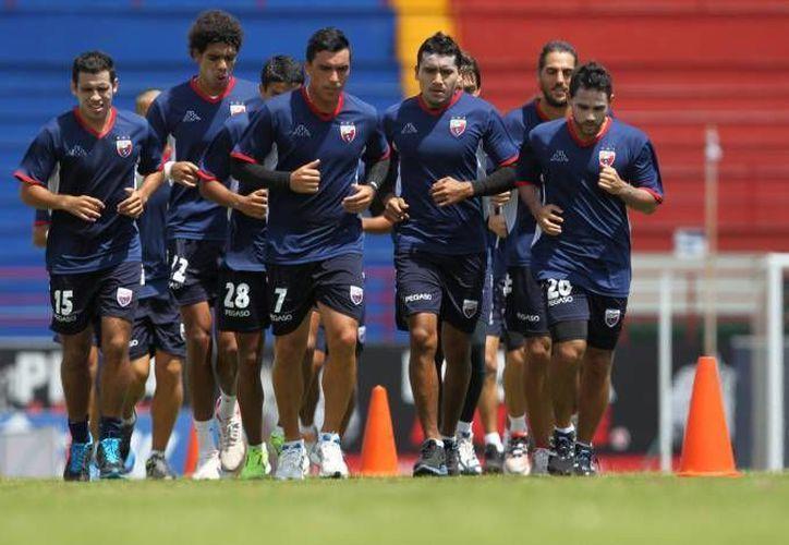 El equipo azulgrana  se encuentra con buen juego dentro del torneo Apertura 2014. (Redacción/SIPSE)