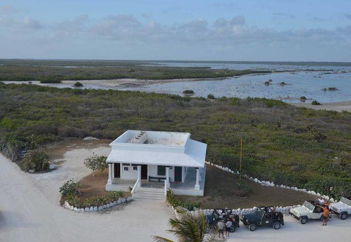 Citymar exige conocer el proceso de la consulta pública para la aprobación del proyecto turístico Villas Xixim, que sería edificado en la Laguna Colombia.  (Gustavo Villegas/SIPSE)