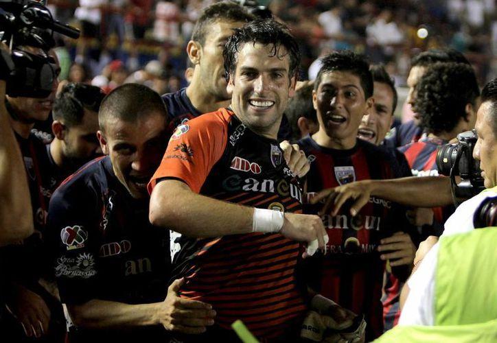 Jorge Villalpando fue el héroe del partido. (Redacción/SIPSE)