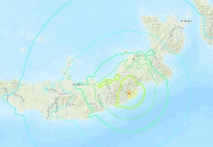 La sacudida del sismo fue a 39 kilómetros de profundidad y a 192 kilómetros al sur de Rabaul. (excelsior.com)