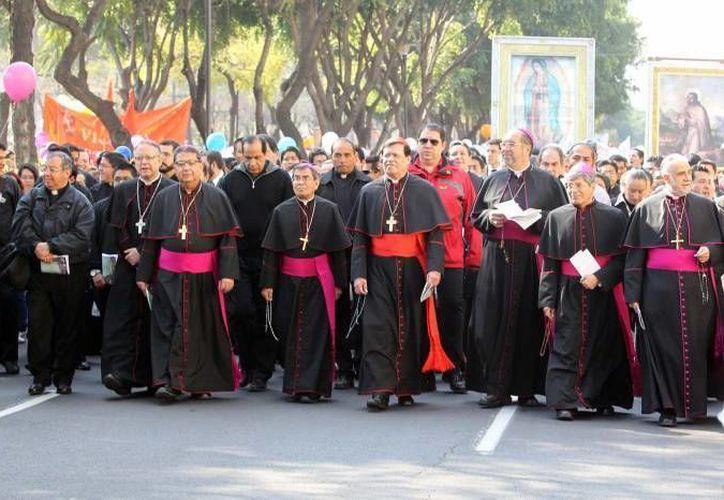 Este domingo, la Arquidiócesis de México defendió  las marchas promovidas por el Frente Nacional por la Familia que se oponen a la iniciativa de los matrimonios igualitarios. (Imagen ilustrativa/ Notimex)