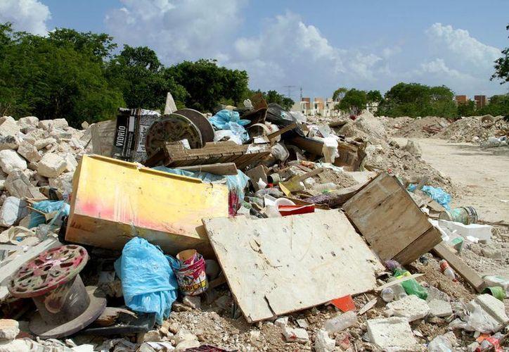 El Ayuntamiento se encuentra en la preparación de un plan integral de manejo de los residuos sólidos que se generan en el municipio.  (Adrián Monroy/SIPSE)