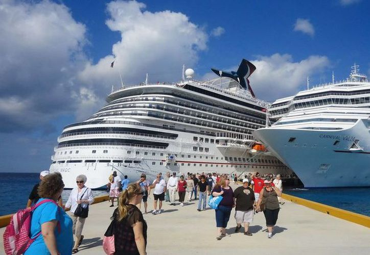 Se dio a conocer que llegarán 18 cruceros a las costas del Estado esta semana. (Redacción/SIPSE)