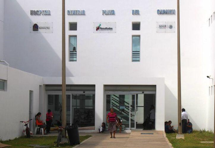 El primer bebé que nació en el Hospital General de Playa del Carmen este año, es una niña. (Daniel Pacheco/SIPSE)