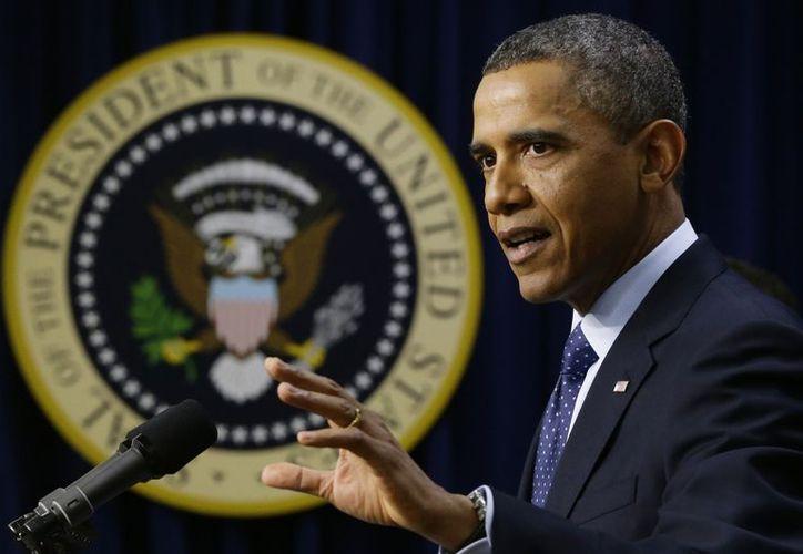 El presidente, en una comparecencia ante los medios. (Agencias)