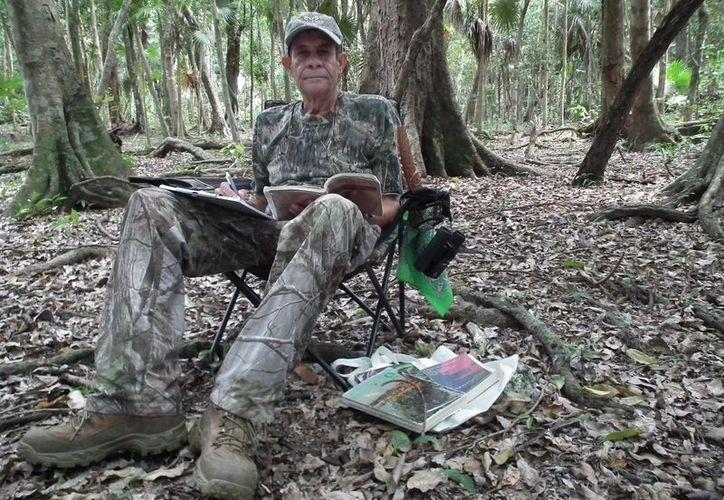 El biólogo Arturo Enrique Bayona Miramontes recibió el Conservación de la Naturaleza 2018.  (Cortesía)
