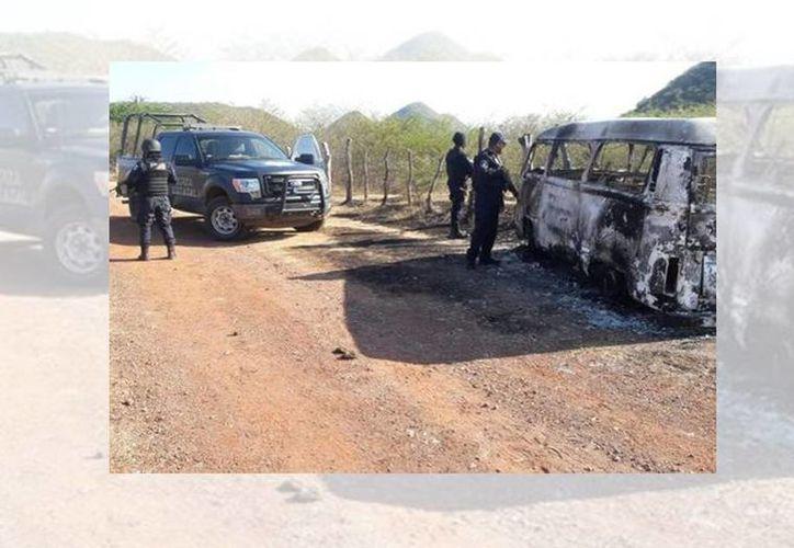 Ayer la Policía Estatal ubicó un campamento donde El Tequilero permaneció alrededor de un día. (Rogelio Agustín Esteban/Milenio)