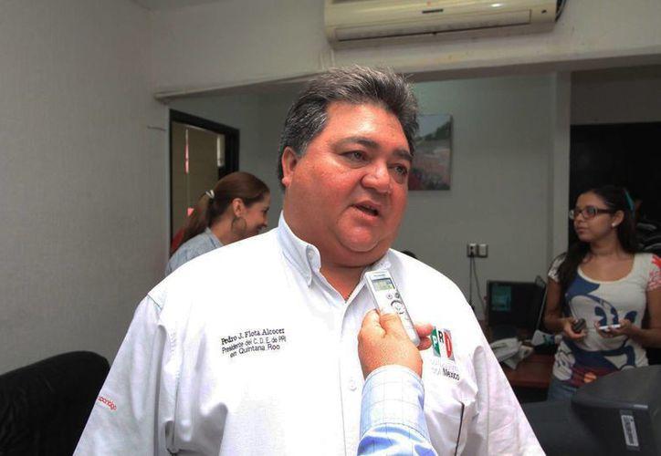 Pedro Flota Alcocer aseguró que no dejará la dirigencia estatal para participar en el proceso electoral. (Redacción/SIPSE)