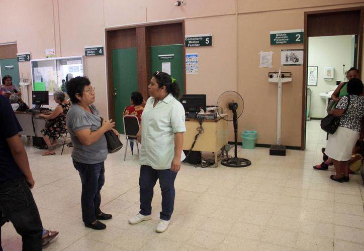 Se prevé la remodelación del servicio de urgencias además de mejor la sala de espera, este proyecto se espera para este año. (Harold Alcocer/SIPSE)