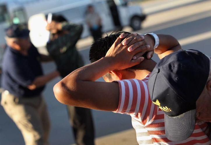 Al momento de su detención, varios intentaron darse a la fuga, pero fueron arrestados. (vivelohoy.com)