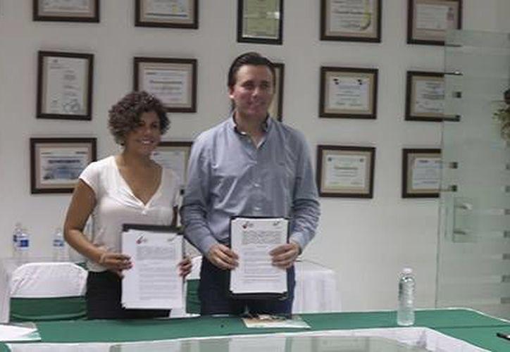 Los convenios se realizaron con la Universidad Tecnológica de Cancún y la Universidad Anáhuac. (Redacción/SIPSE)