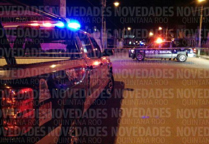 Se llevan a cabo las indagatorias por elementos de la Policía Municipal. (Foto: O. Peralta )